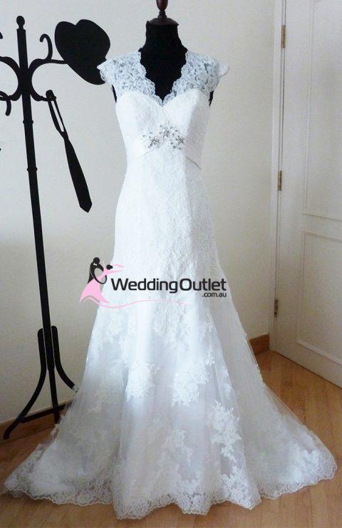 Camelia vintage wedding gown vi-505
