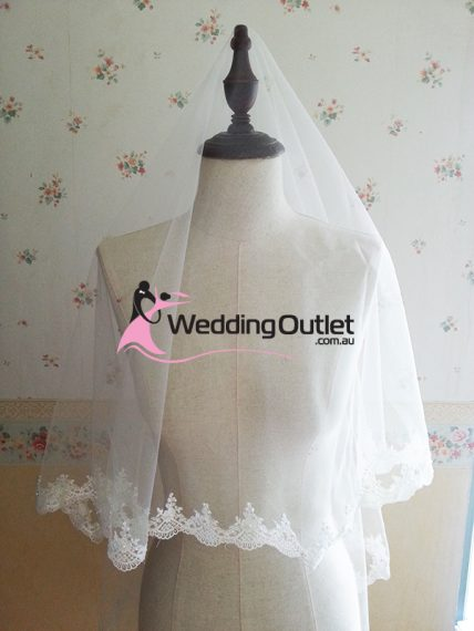 Wedding Lace Veil Soft
