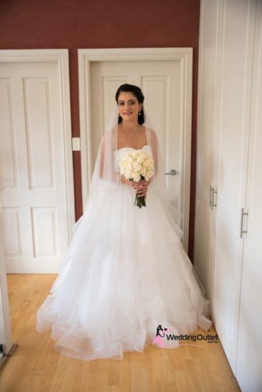 Valentina Ruffle Layers Wedding Dress