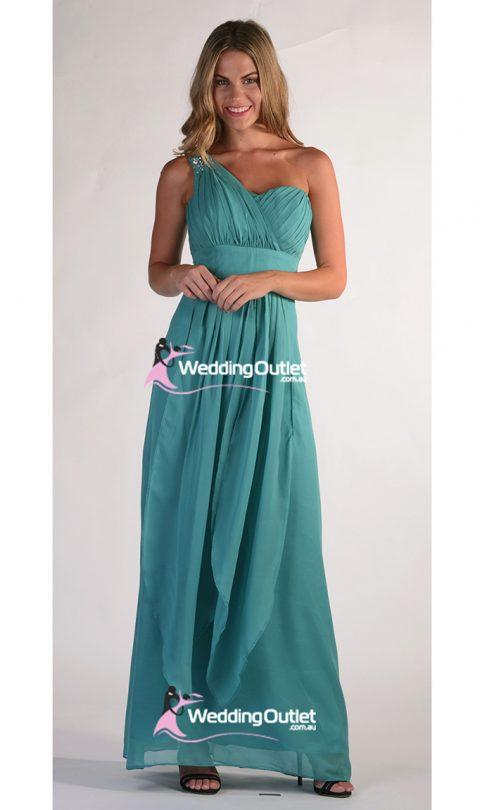Jade Green Bridesmaid Dresses Style #C104