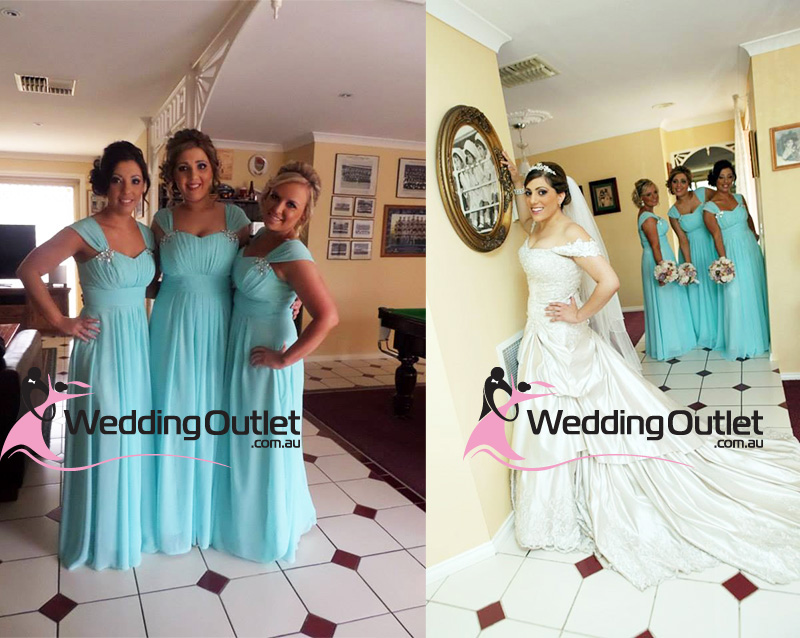 Tiffany Blue Bridesmaid Dresses Weddingoutlet Com Au