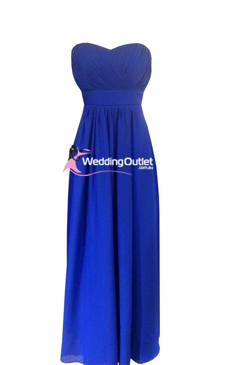 Royal Blue Bridesmaid Dresses Weddingoutlet Com Au