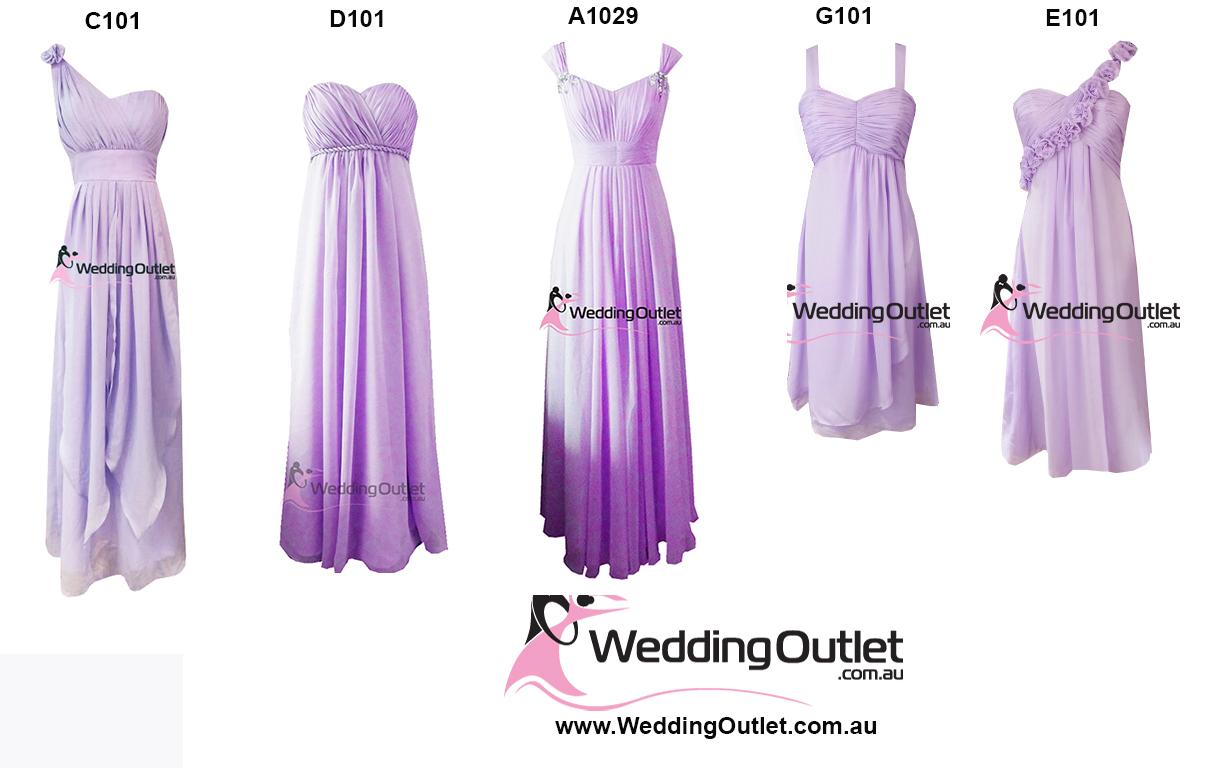 Lilac Purple Bridesmaid Dresses Weddingoutlet Com Au