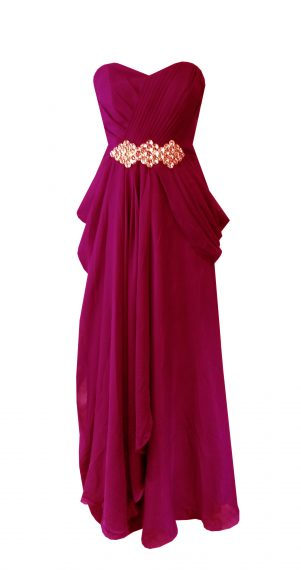 Hot Pink Purple Bridesmaid Dresses Style #I101