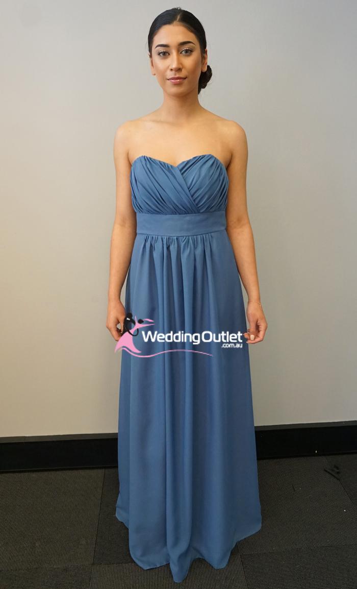 0b4b3dce50b Stormy Strapless Bridesmaid Dress  T101 - WeddingOutlet.com.au