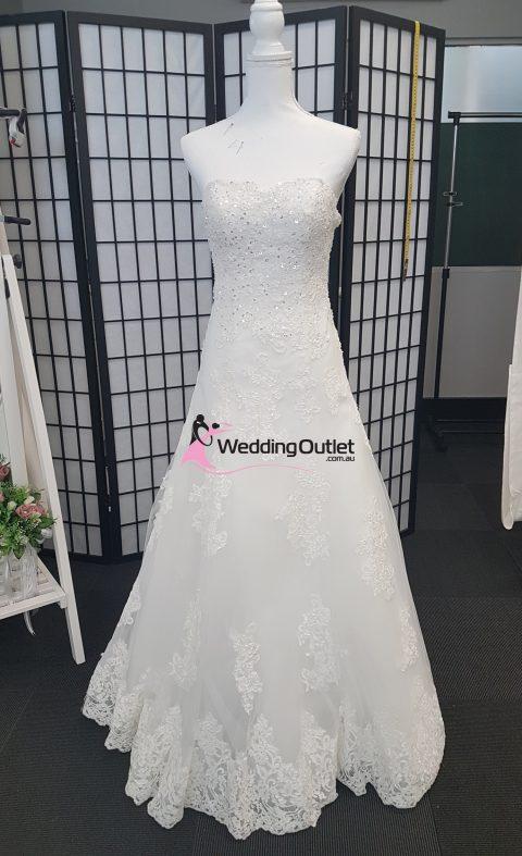 Macy Simple Aline Wedding Dress