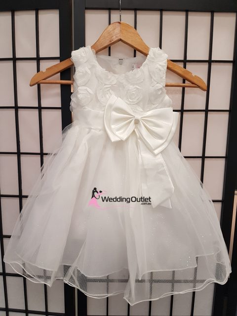 Flower Girl Dress with Bow Style #FL103
