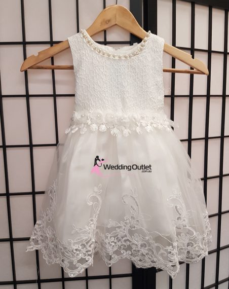 Flower Girl Dress with Lace Style #FL104