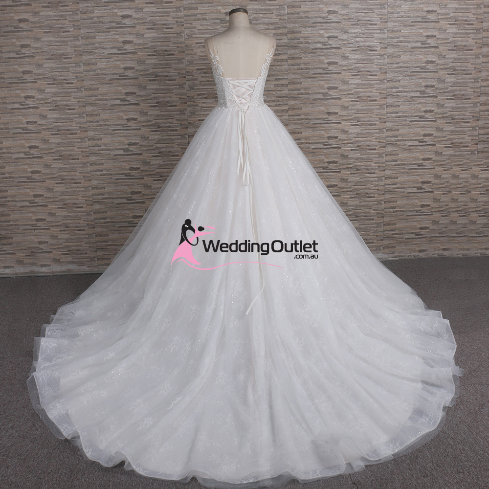 Wedding Gowns Outlet: Genoa Princess Ball Gown Wedding Dress