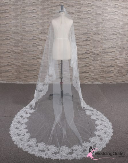 Vintage Lace Wedding Veil