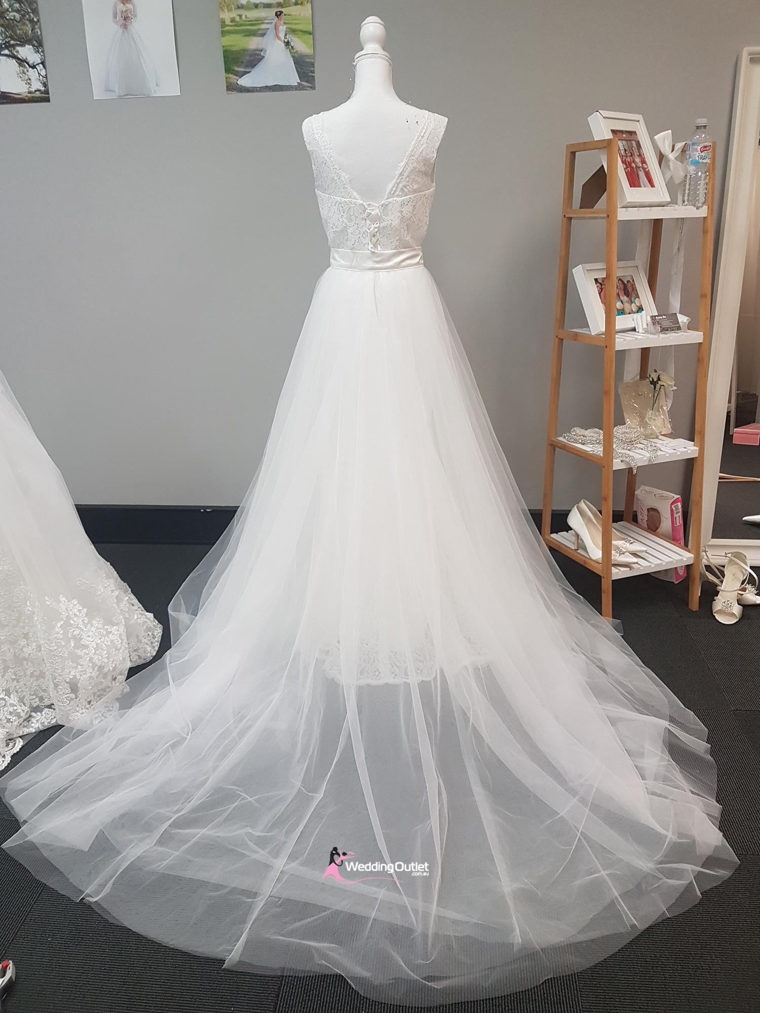 Rouen Mermaid Dress With Detachable Skirt Weddingoutlet