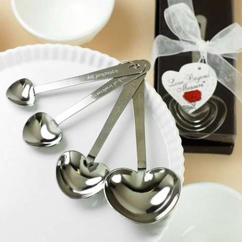 Measuring Spoons Wedding Favours