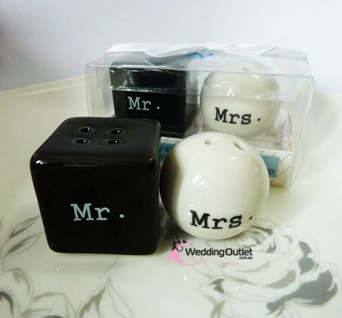 Mr and Mrs Salt and Pepper Shakers