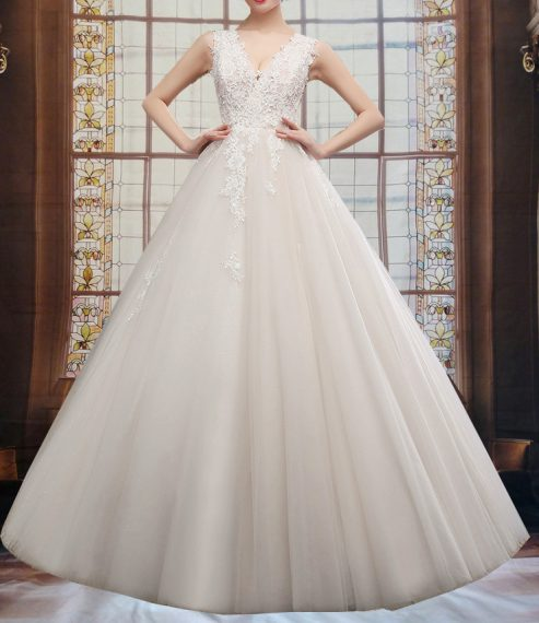 Adeva Aline Wedding Dress for Plus Sizes