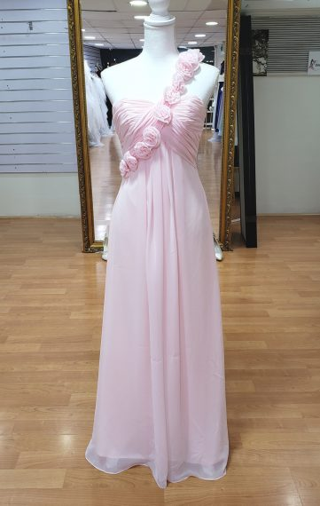 Baby Pink Bridesmaid or Formal Dress