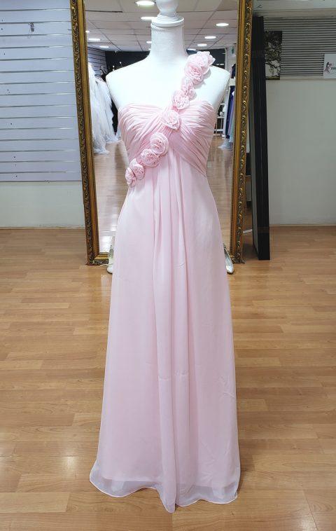 Baby Pink Bridesmaid or Formal Dress