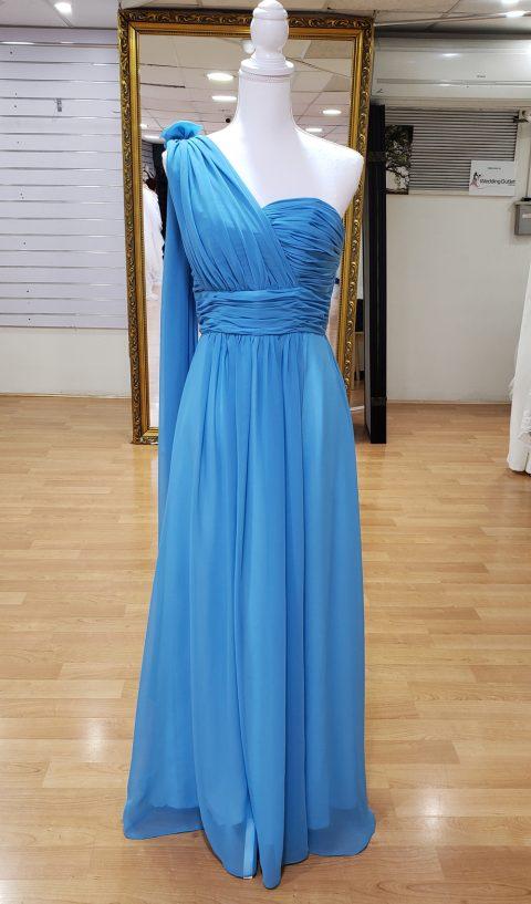 Dodger Blue Bridesmaid or Formal Dress
