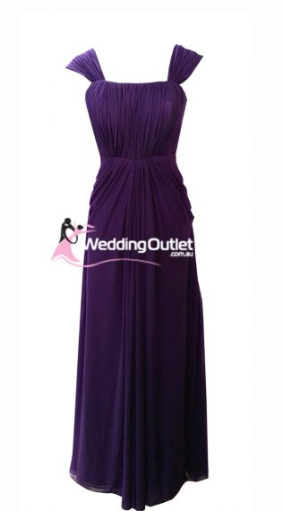 Acai Purple Evening Dresses Style #AD101