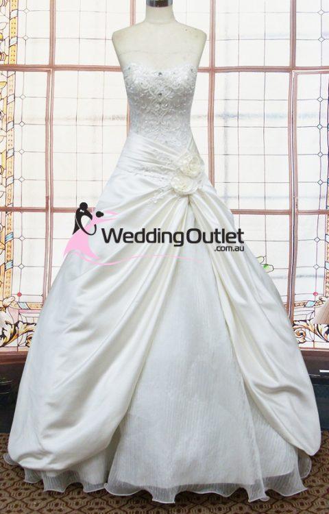 Audrey ball gown wedding dress