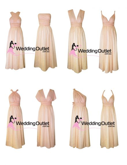 Eight Way Twist and Wrap Bridesmaid Dress Style #U101
