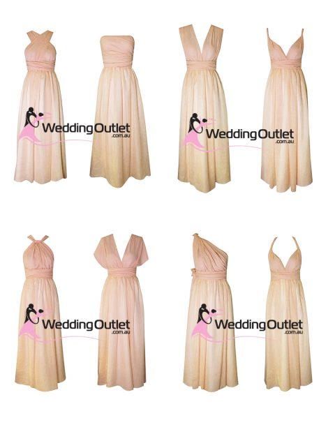 Eight Way Twist and Wrap Bridesmaid Dress Style #U101