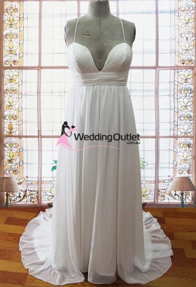 Georgina beach bickini wedding dresses