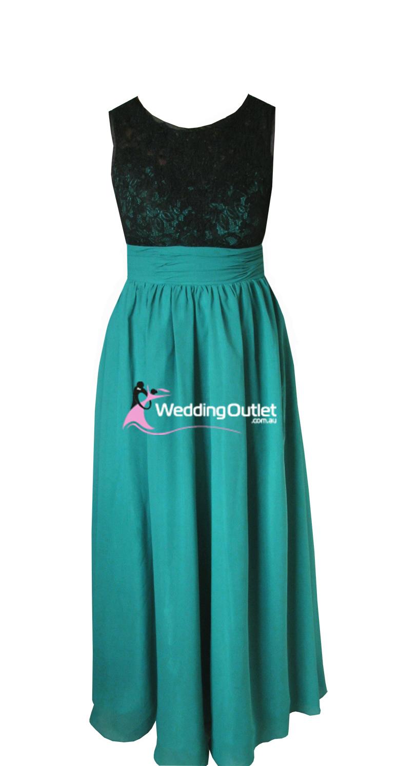 Black Lace Evening Gown Bridesmaid Dresses Style Ag101 Weddingoutletcomau