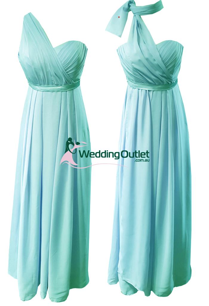 Aqua Convertible Wrap Dress Style Uu101 Weddingoutlet
