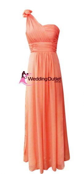 Deep Coral Bridesmaid or formal dress Style #Y101
