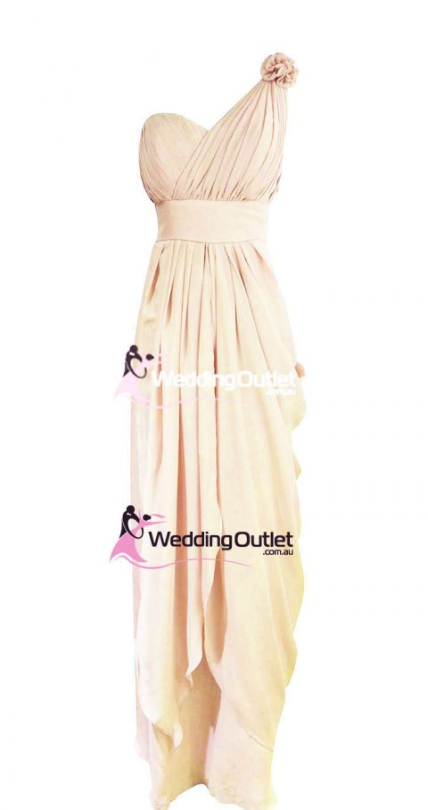Cream Bridesmaid Dresses Style #C101