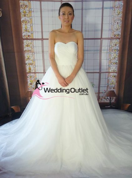 Alexia Elegant Princess Wedding Dress