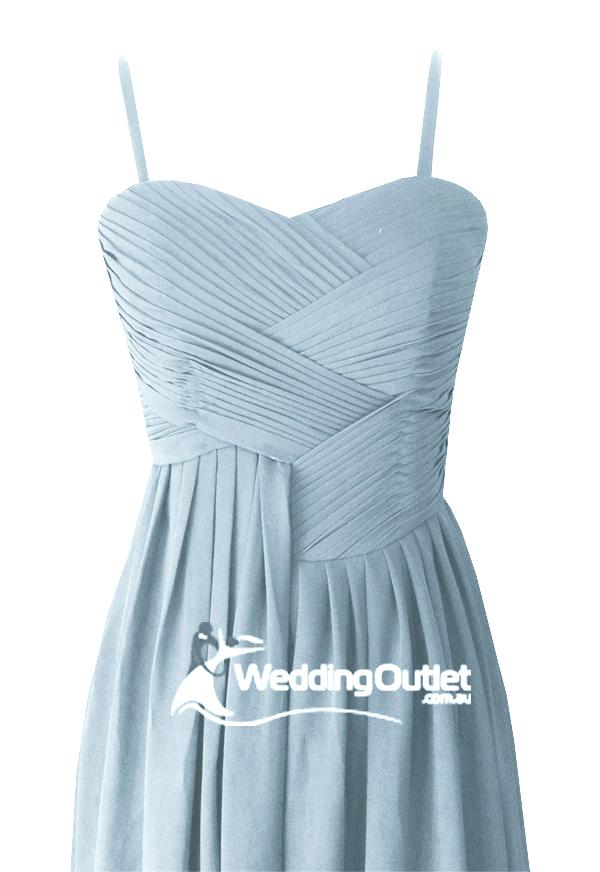 Dusty Blue Bridesmaid Dresses