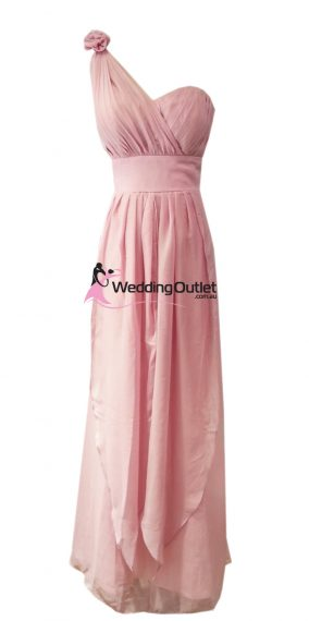 Dusty Pink Bridesmaid Dresses Style #C103
