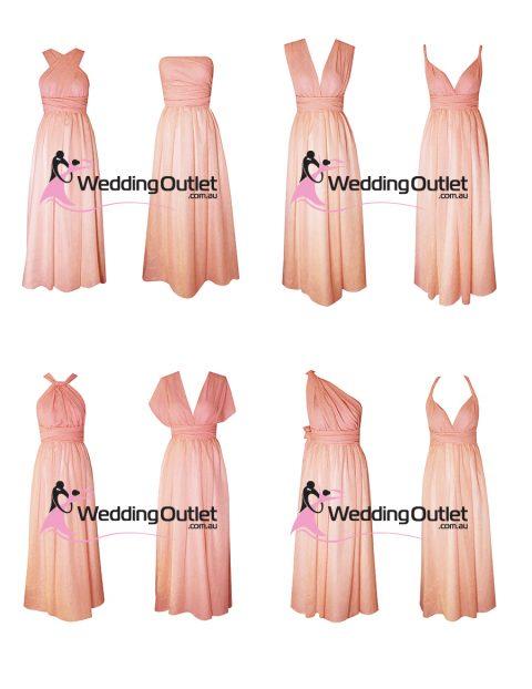 Eight Way Twist and Wrap Dress style #U101