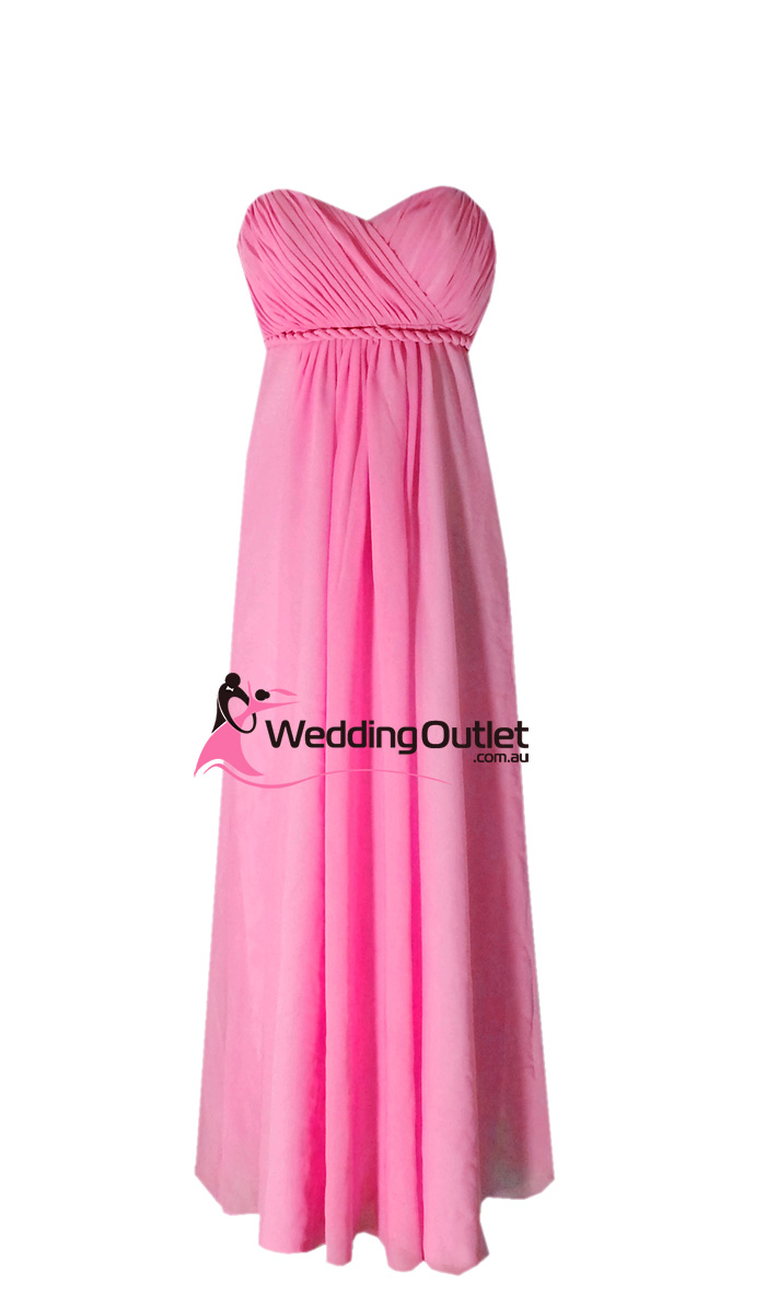 Pink Dressers For Girls Bedroom Set: Fuchsia Pink Bridesmaid Dress Style #D101