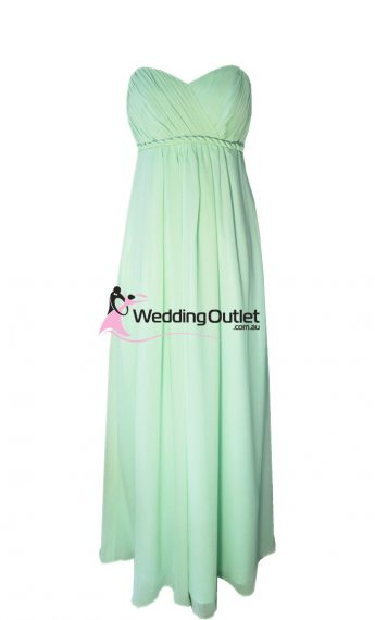 Baby Green Bridesmaid Dress Style #D101