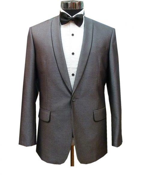 Grey Silver Grooms or Groomsmen Suits