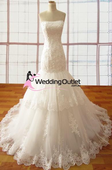 Abigail Lace Mermaid Wedding Dress