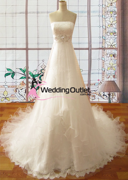 Olivia Empire Line Wedding Dress