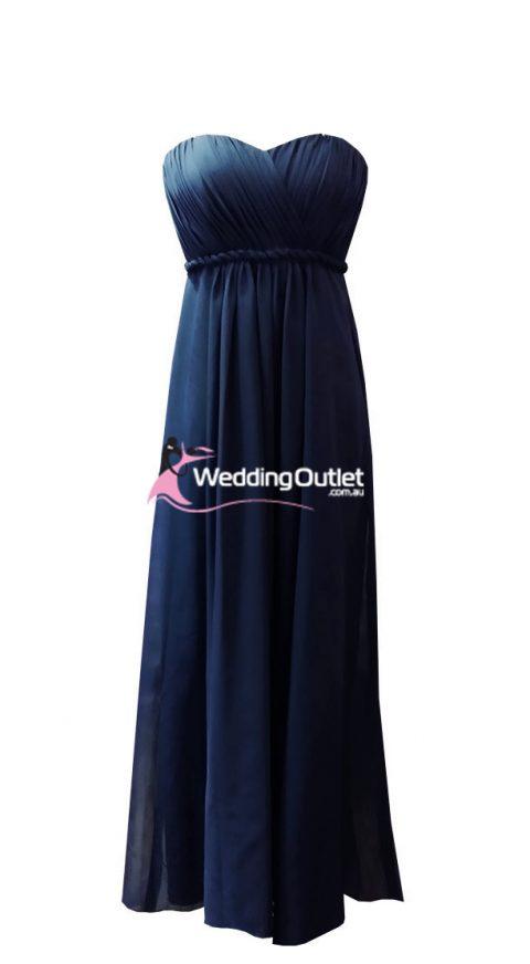Midnight Blue Bridesmaid Dresses Style #D101