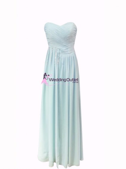 Misty Blue Bridesmaid Dress Style #Z101