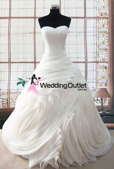 Olivia Ruffle Wedding Dress ab-38