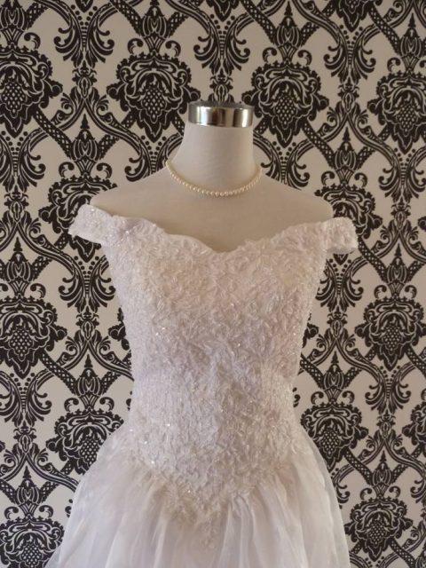 Emma cathedral wedding dress pr-501