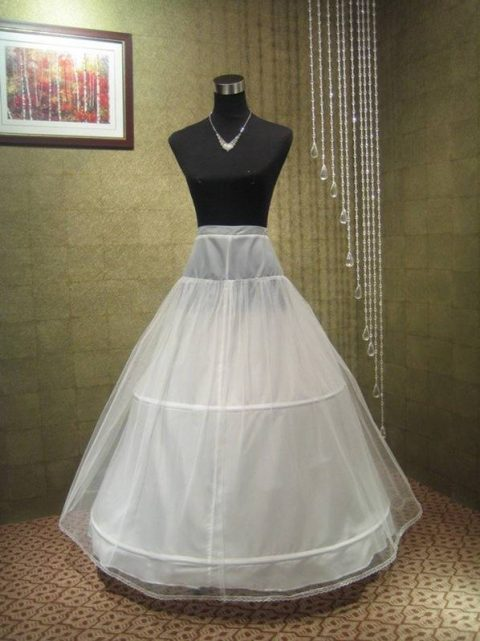 Petticoat underskirt two hoops (sa-542)