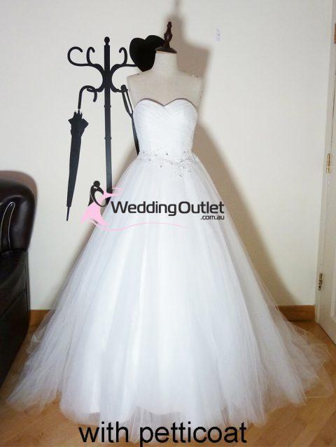 Frances Princess wedding dress sa-9