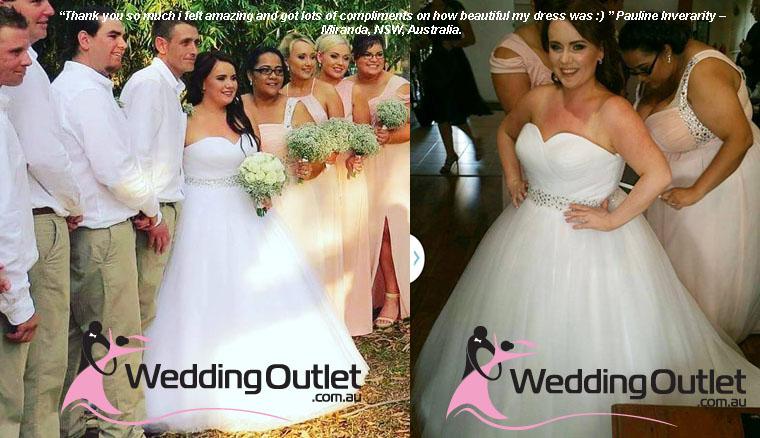 Catalina Princess Sash Wedding Dresses