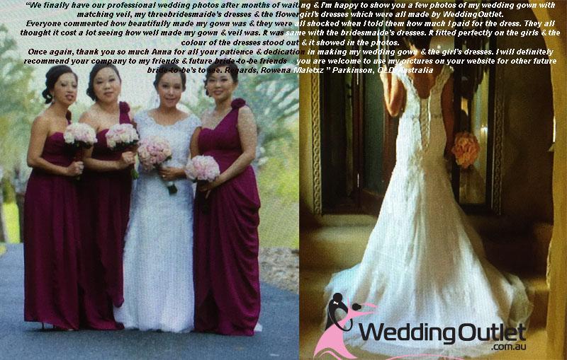 Rowena Sleeved Lace Wedding Dress