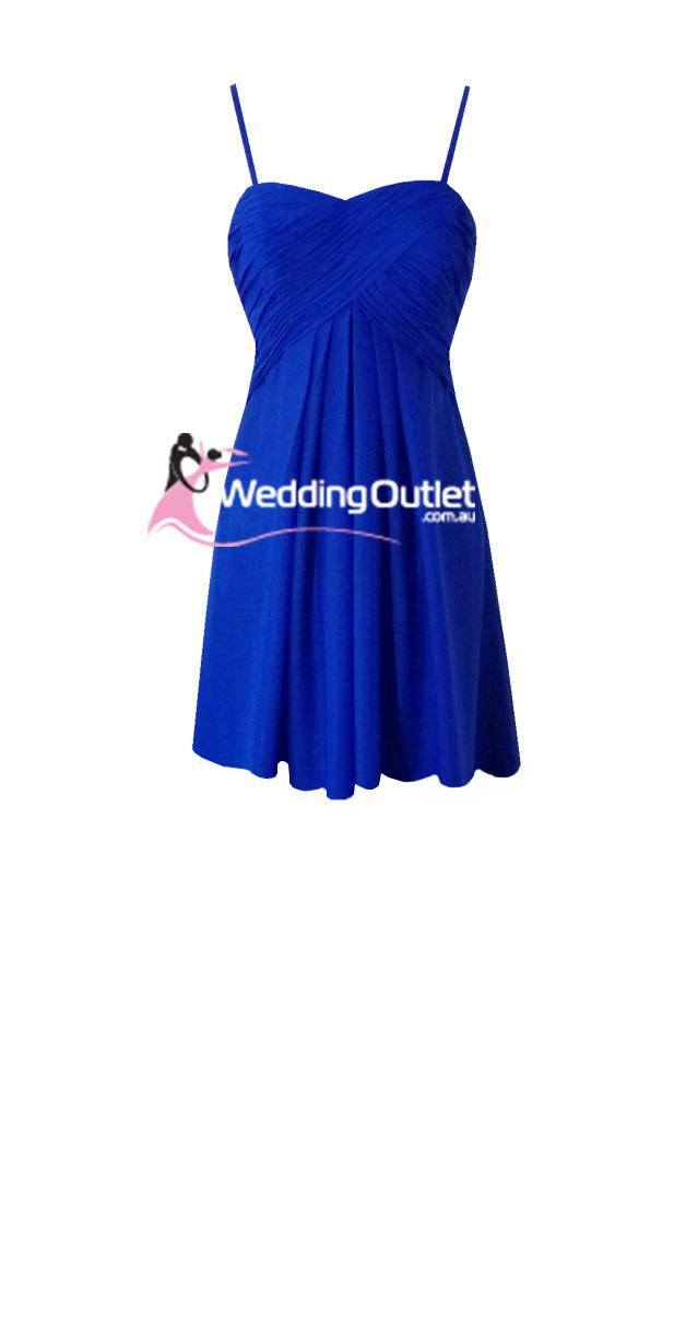 Light blue and purple bridesmaid dresses