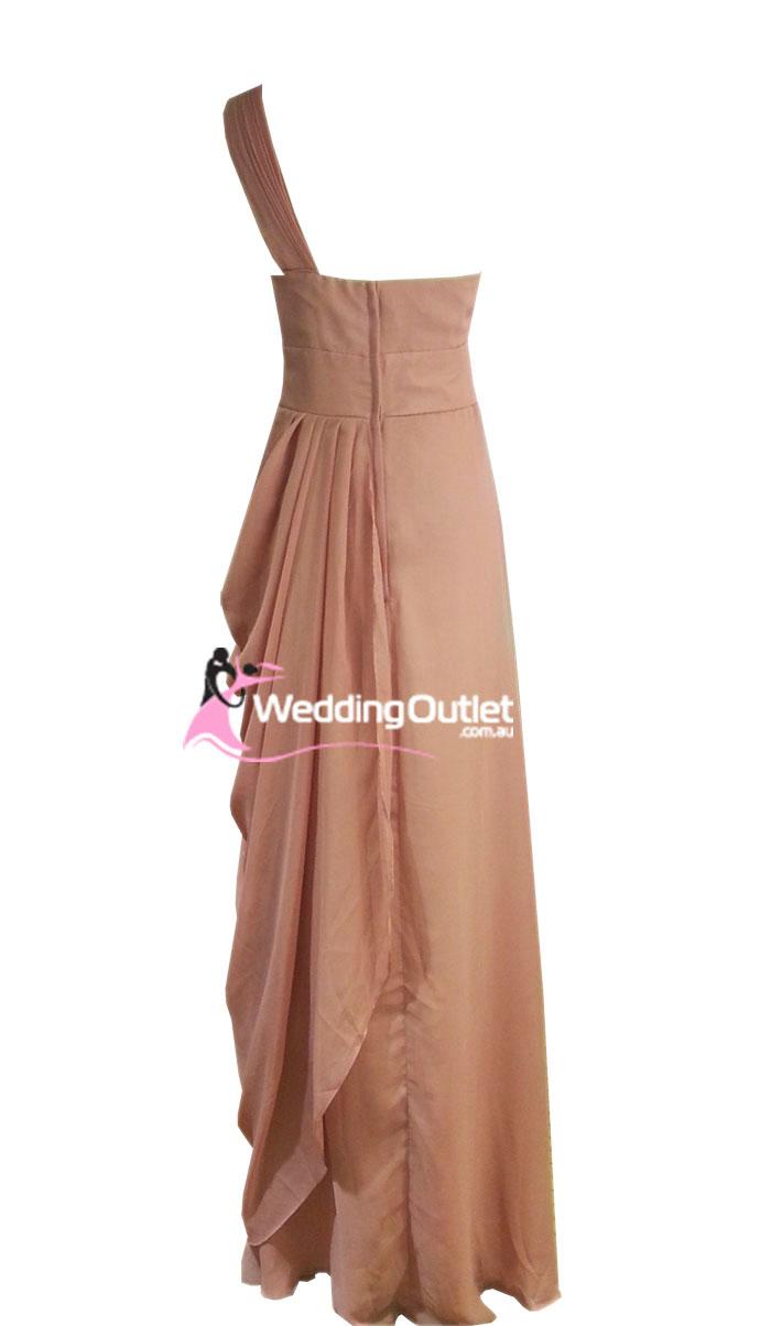 Tan Bridesmaid Dresses Style C101 Weddingoutlet Com Au