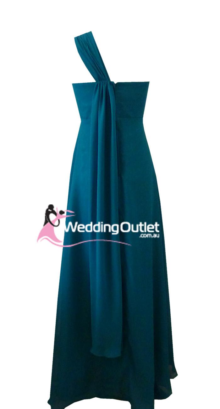 Teal Bridesmaid Dress Maxi Style B9190 Weddingoutlet Com Au